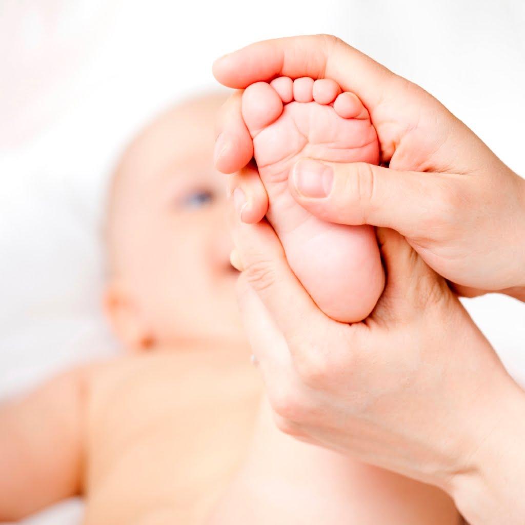 Massage pour bébé